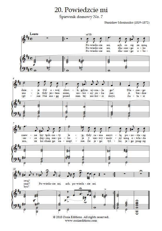 moniuszko śpiewnik domowy pdf chomikuj